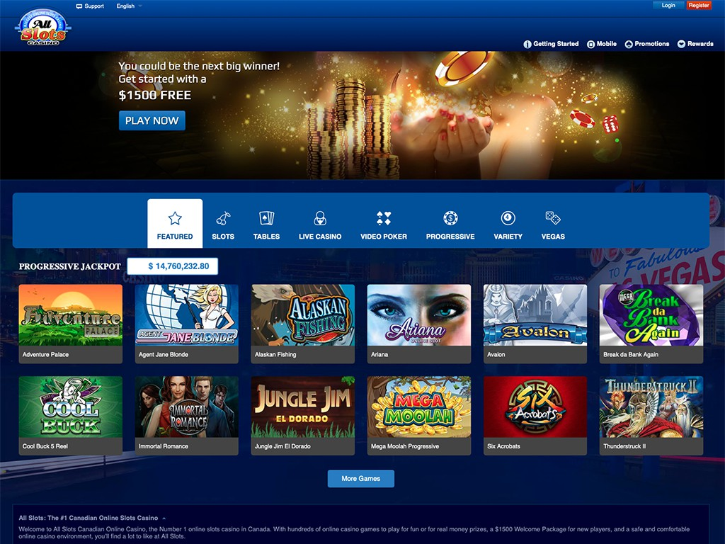 Canadian casino website